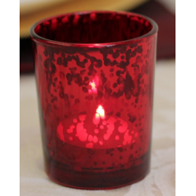 Speckle Red Candle Holder